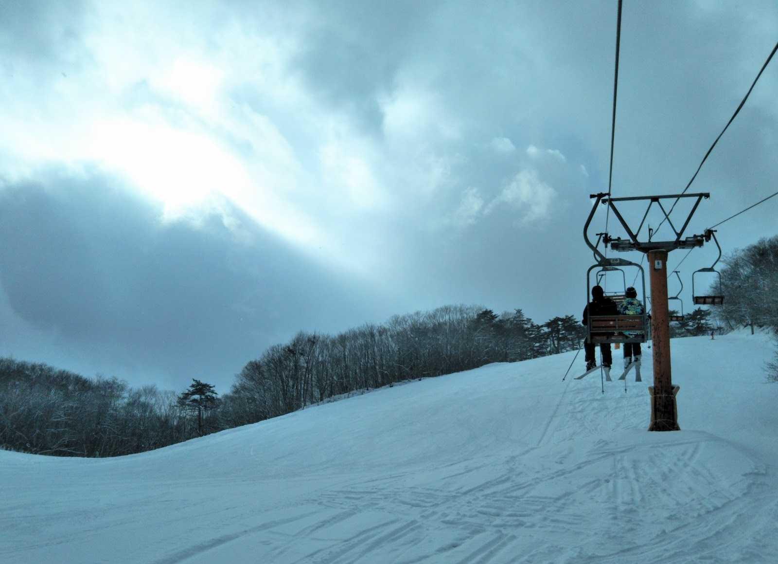 場 スキー 鉛 温泉